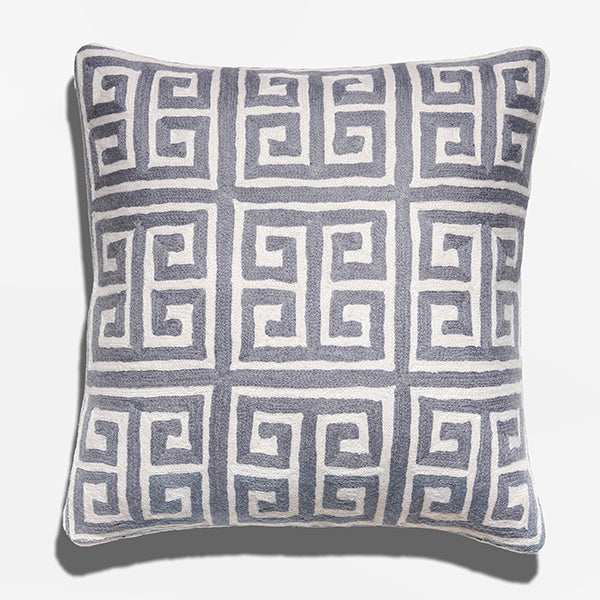 Cushion Cover - Kowloon Gray (L/50x50cm) | Gaya Alegria