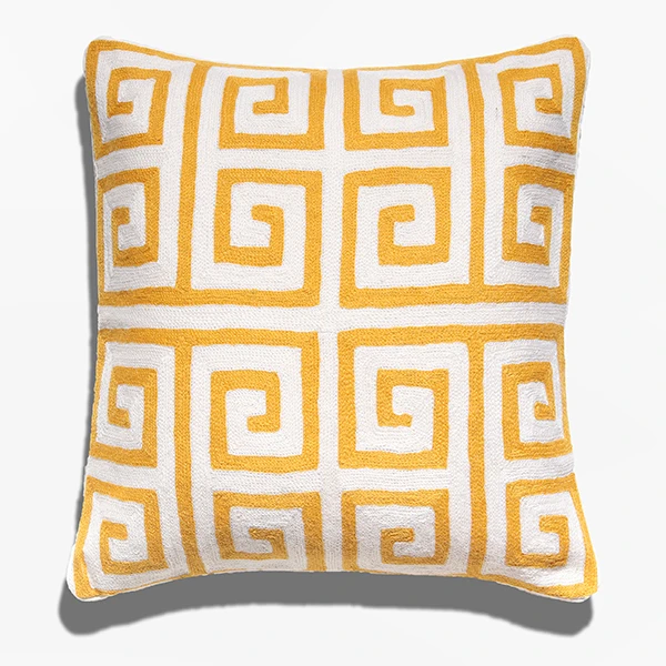 Cushion Cover - Tin Honey Yellow (L/50x50cm) | Gaya Alegria