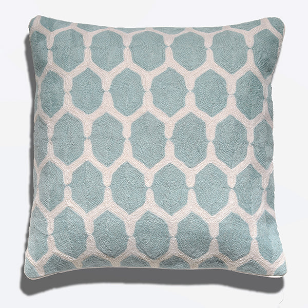 Cushion Cover - Morocco Pale Blue (L/50x50cm) | Gaya Alegria