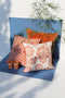 Cushion Cover - Baldu Rusted Orange | Gaya Alegria