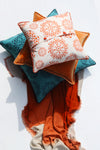 Cushion Cover - Baldu Rusted Orange (L/50x50cm) | Gaya Alegria