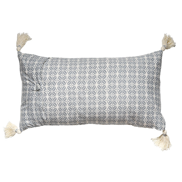 Cushion Cover - Kopi Luak Cool Grey (30X60cm) | Gaya Alegria