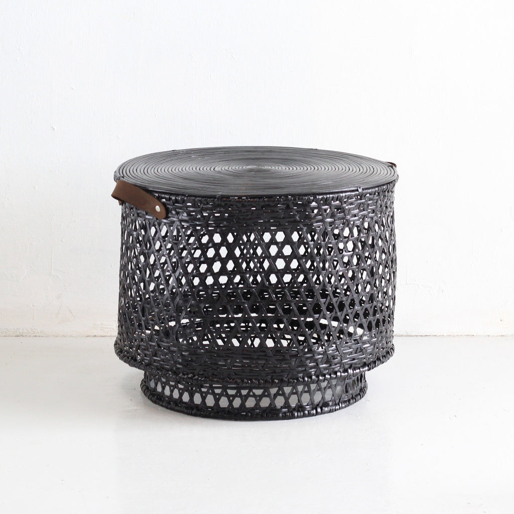 Coffee Tables - Mykonos (Black Hen Weave) | Gaya Alegria