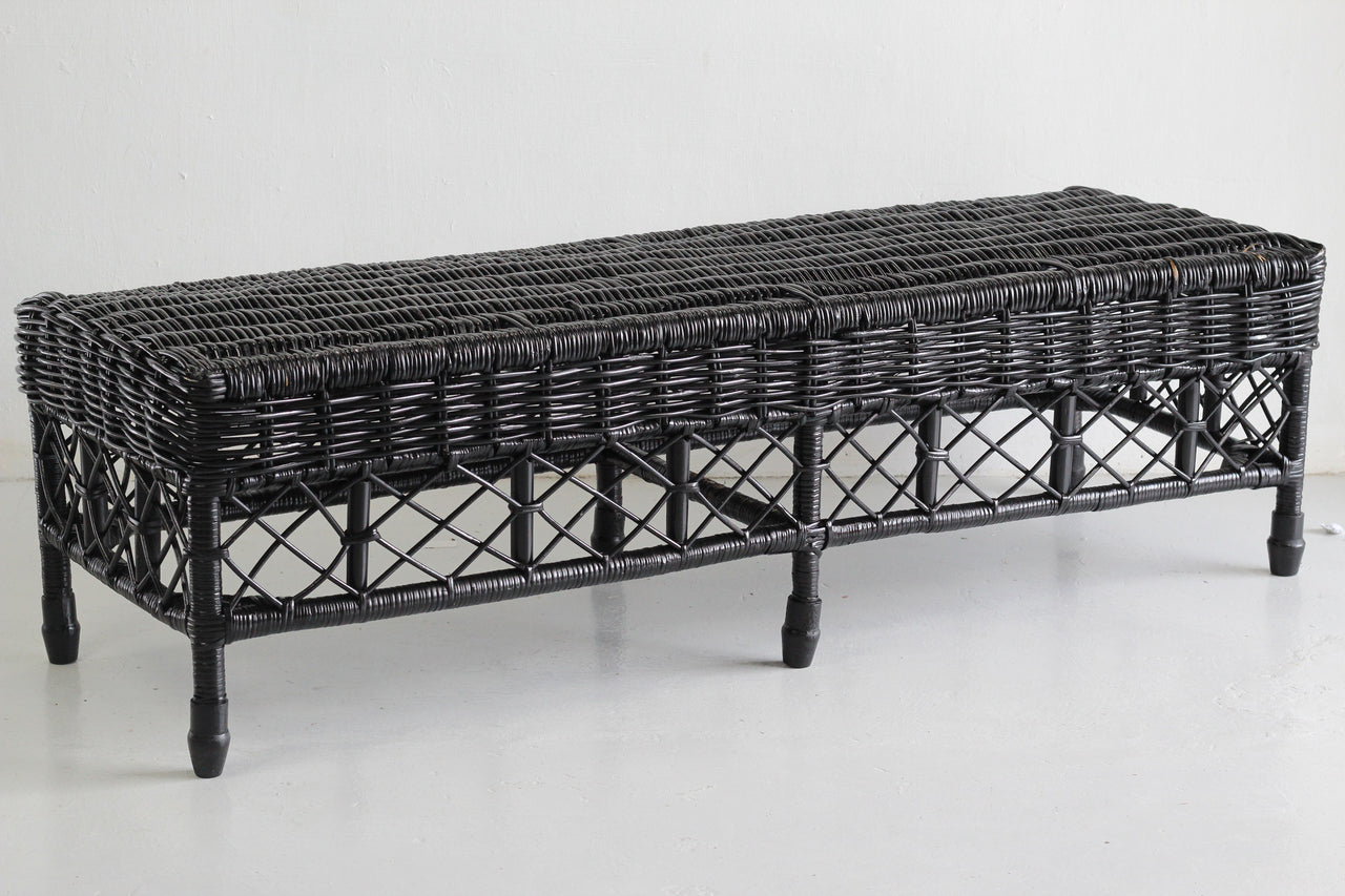 Bench - Houston (Black) | Gaya Alegria