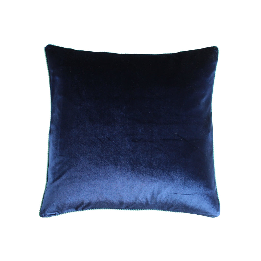 Cushion Cover - Bludru (Dark Blue Velvet) | Gaya Alegria