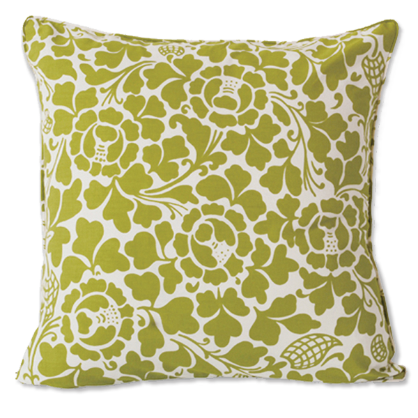 Cushion Cover - Passio Lime Green (L / 65x65cm) | Gaya Alegria