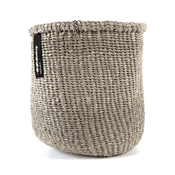 Mono Basket Uma - Light Grey  (no handles) | Gaya Alegria