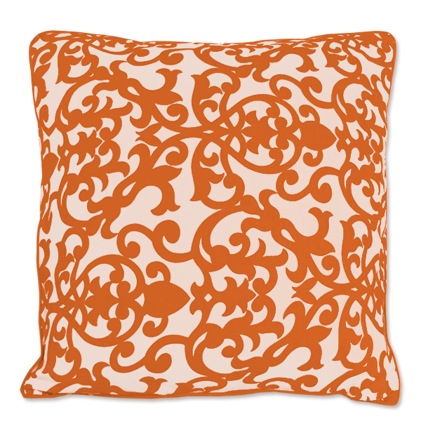Cushion Cover - Lavanda Orange (M) | Gaya Alegria
