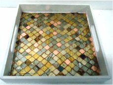 Tray - Vella (glass mosaic)