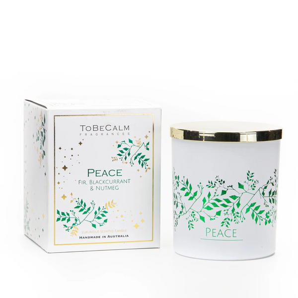 Christmas Scented Candle - To Be Calm - Peace (L)