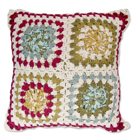 Cushion Cover - Crocheted MC (M / 45X45cm)