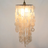 Chime Chandelier- Natural Capiz (Large) | Gaya Alegria