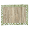 Waterlily Placemats - Sage Blocks (Set of 4)