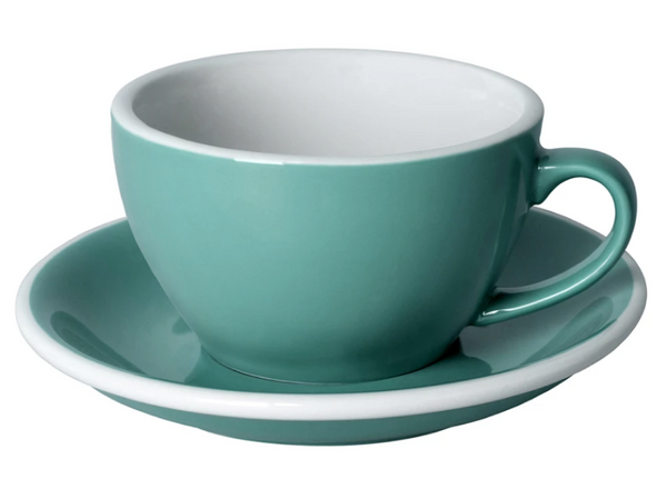 Coffee Cup & Saucer - Teal- 2 sizes | Gaya Alegria
