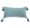 Cushion Cover - Kopi Luak Teal (30x60cm) | Gaya Alegria