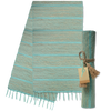 Table Runner - Pistacho Aqua Stripe | Gaya Alegria