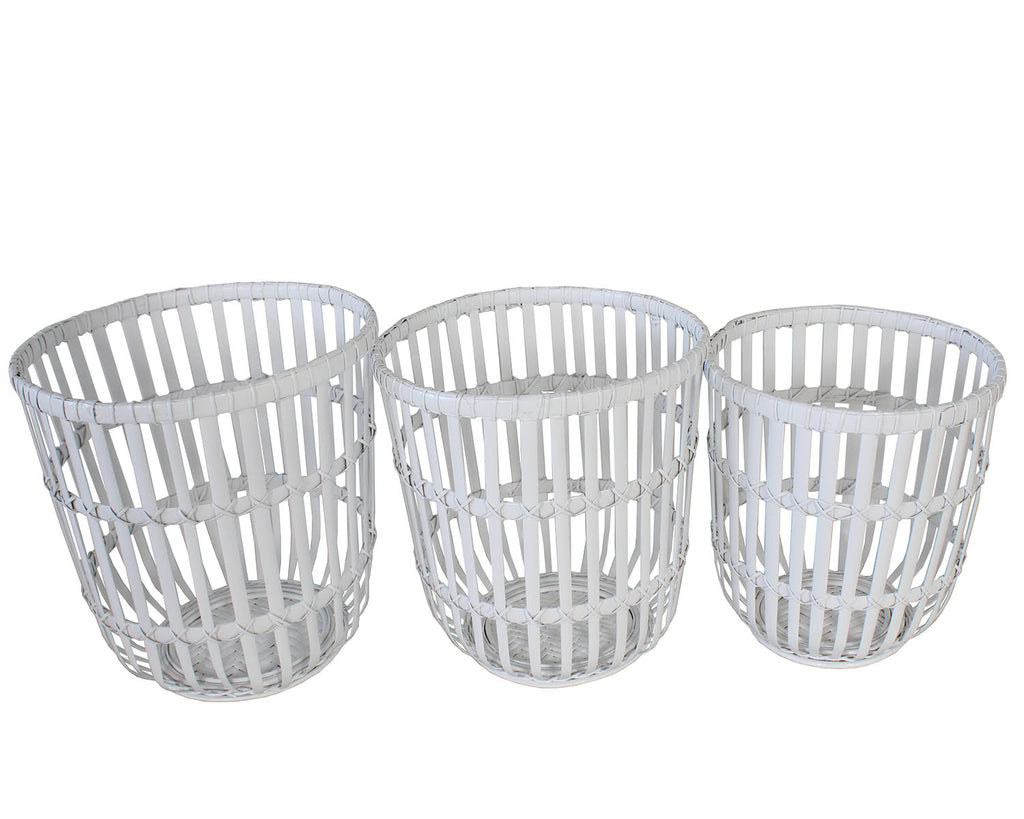 Basket - Angelique (White) | Gaya Alegria