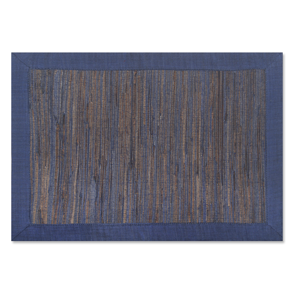 Waterlily Placemats - Midnight Blue
