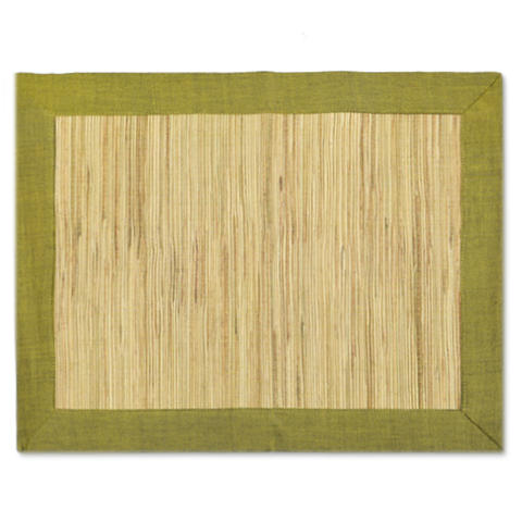 Waterlily Placemats - Green