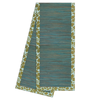 Table Runner - Passio Olive Aqua Waterlily runner - 200 cm | Gaya Alegria