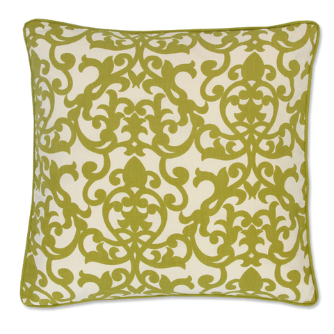Cushion Cover - Lavanda Lime Green (M / 45X45cm) | Gaya Alegria