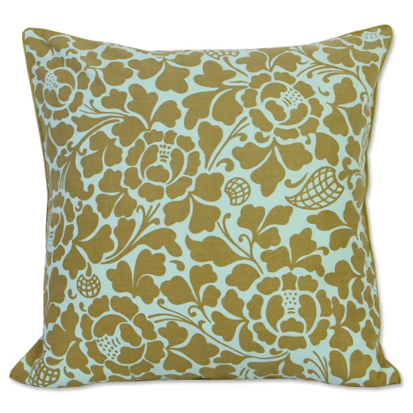 Cushion Cover - Passio Olive (XL) | Gaya Alegria