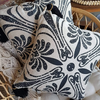 Cushion Cover Klasik - Black & White | Gaya Alegria