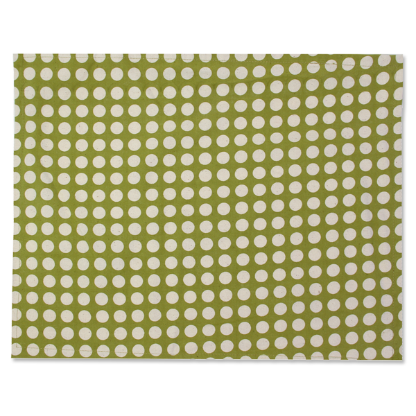 Fabric Placemats - Lonara Green