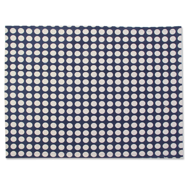 Fabric Placemats - Lonara Midnight Blue