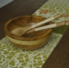 Table Runner - Green Cotton (250 cm) | Gaya Alegria