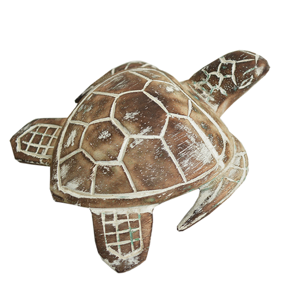Wooden Rustic Turtle
