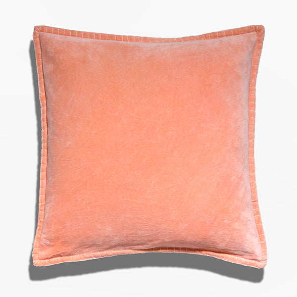 Cushion cover - Baldu Salmon (L/50x50cm) | Gaya Alegria