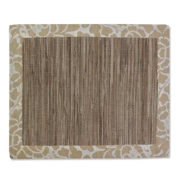 Waterlily Placemats - Passio Beige (set of 4) | Gaya Alegria