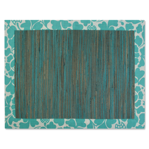 Waterlily Placemats - Passio Turquoise