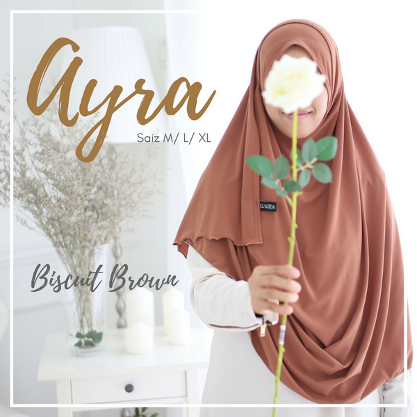 INSTANT SHAWL AYRA - Biscuit Brown