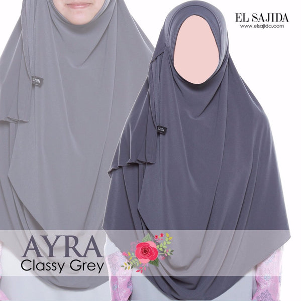 AS-IS INSTANT SHAWL AYRA - Classy Grey
