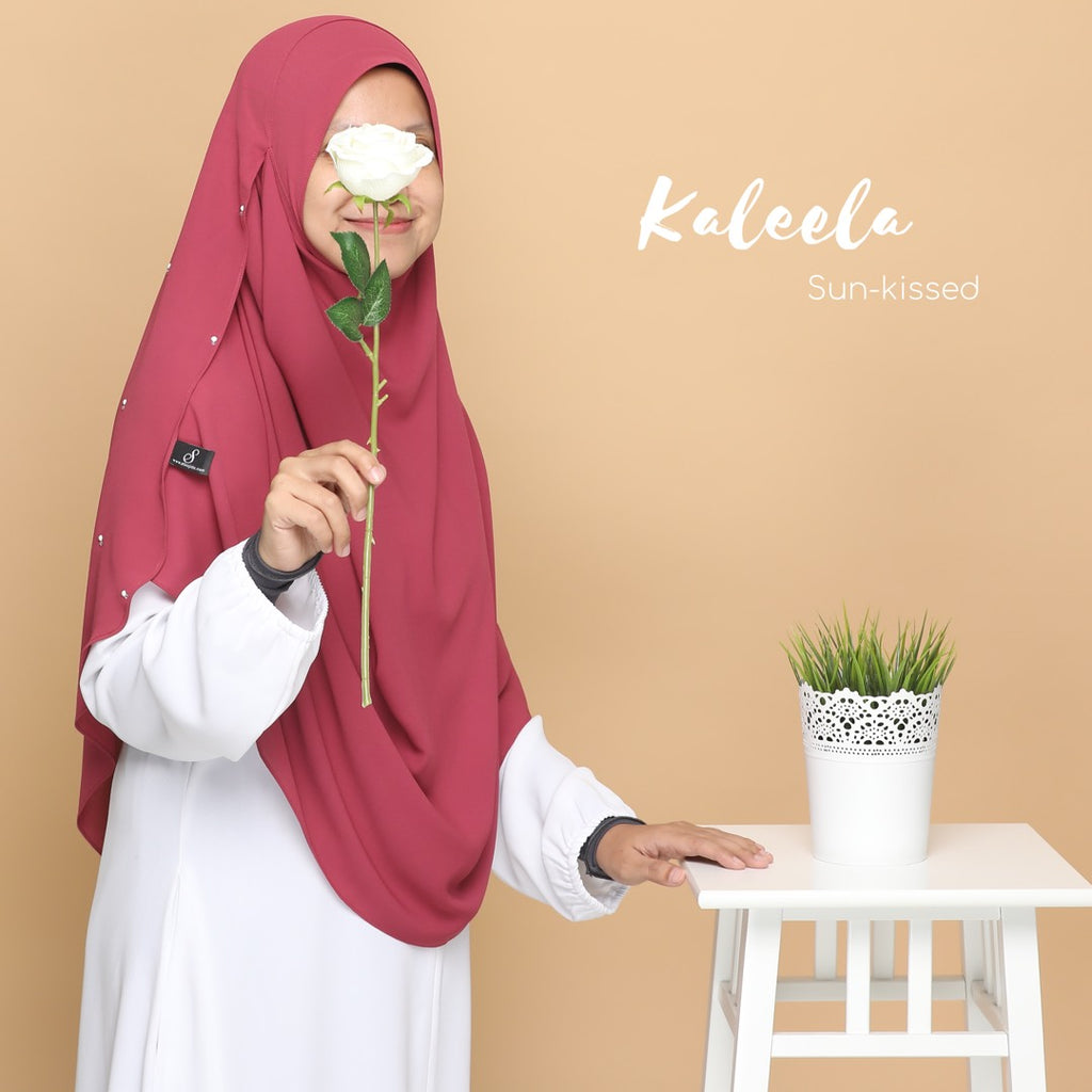 INSTANT SHAWL KALEELA - Sun-kissed