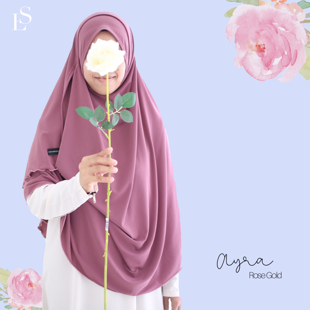 INSTANT SHAWL AYRA - Rose Gold