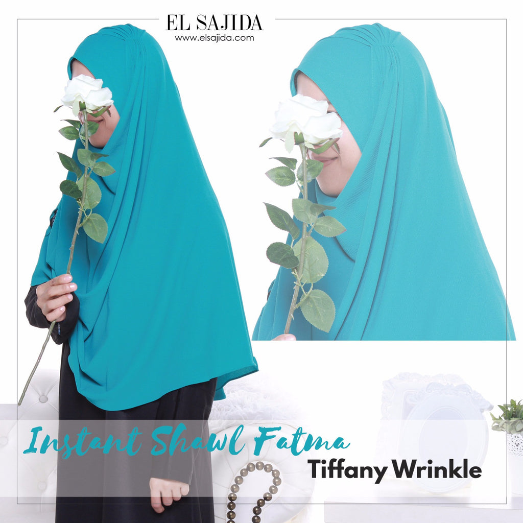 INSTANT SHAWL FATMA - Tiffany Wrinkle