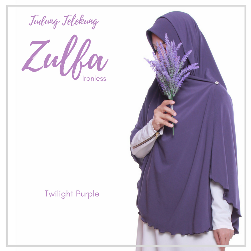TUDUNG TELEKUNG ZULFA - Twilight Purple