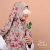 INSTANT SHAWL AYRA PRINTED - Starry Foam