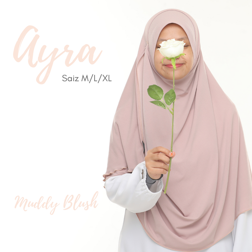 INSTANT SHAWL AYRA - Muddy Blush