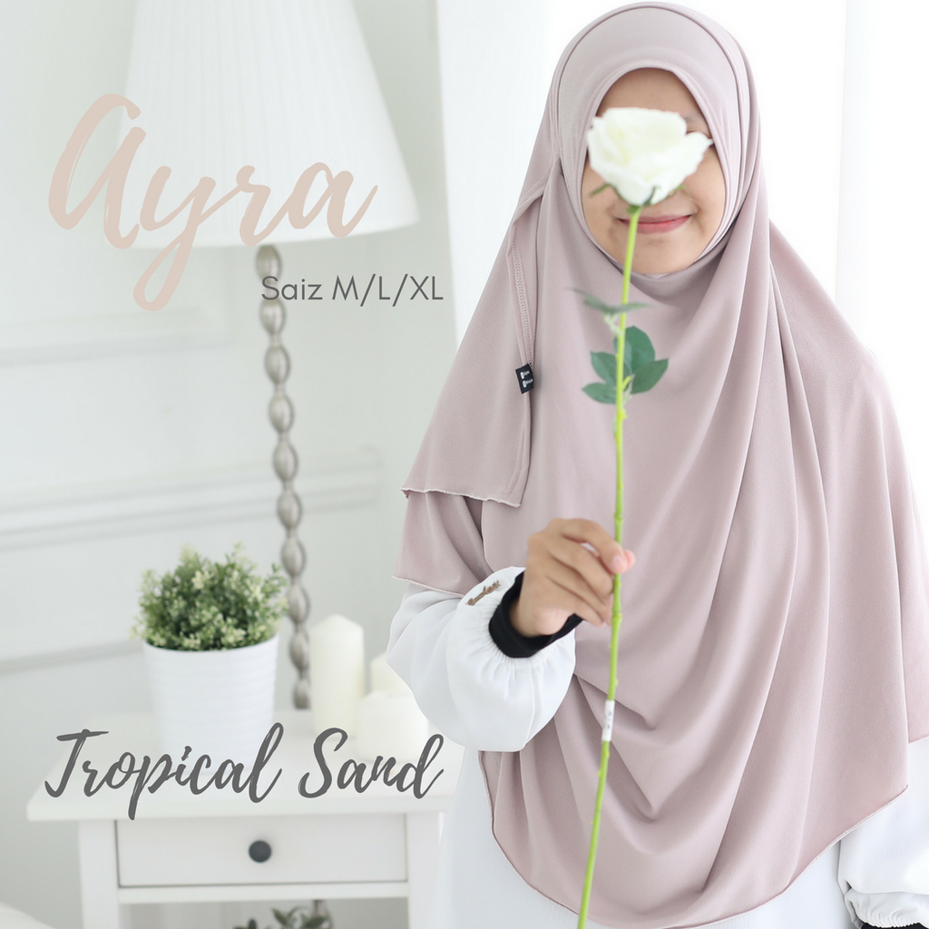 INSTANT SHAWL AYRA - Tropical Sand