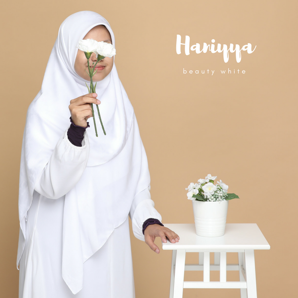 TUDUNG HANIYYA - Beauty White
