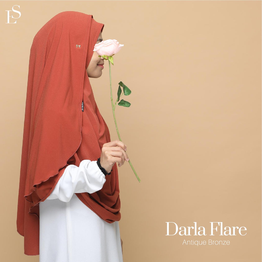 INSTANT SHAWL FLARE DARLA - Antique Bronze
