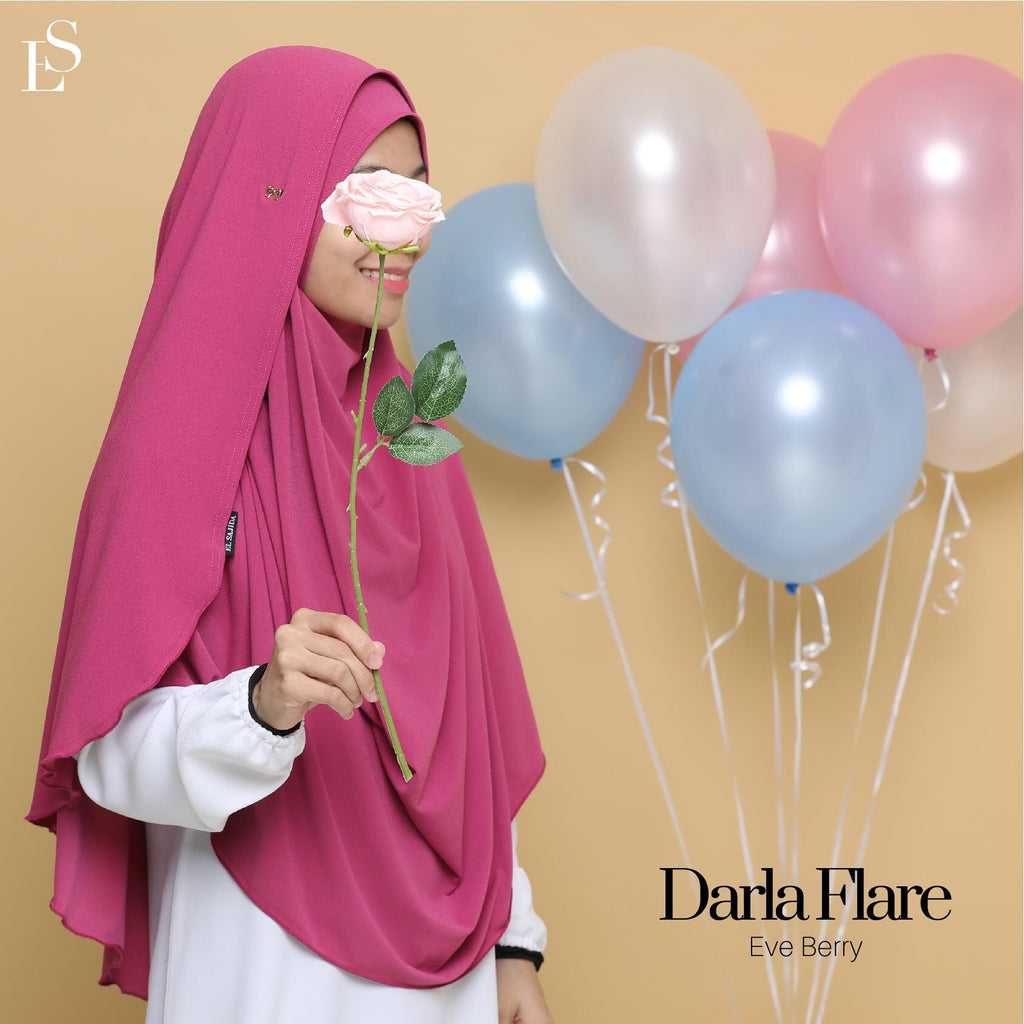 INSTANT SHAWL FLARE DARLA - Eve Berry