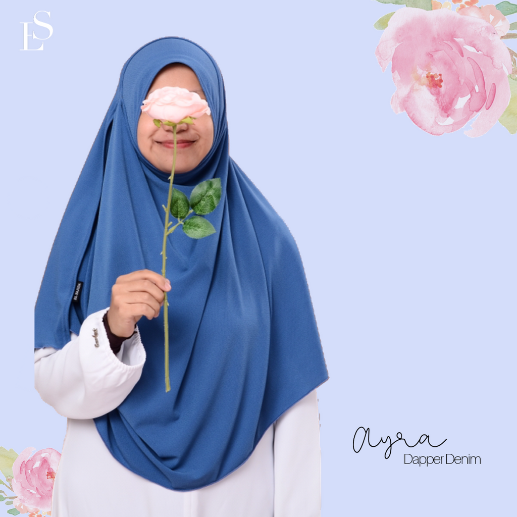 INSTANT SHAWL AYRA - Dapper Denim