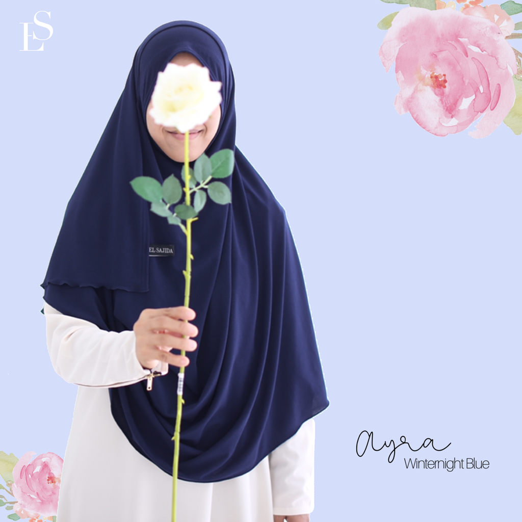 INSTANT SHAWL AYRA - Winternight Blue