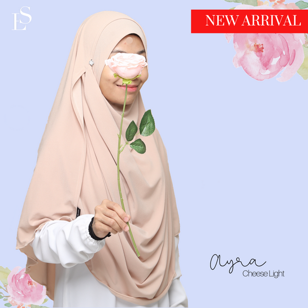 INSTANT SHAWL AYRA - Cheese Light