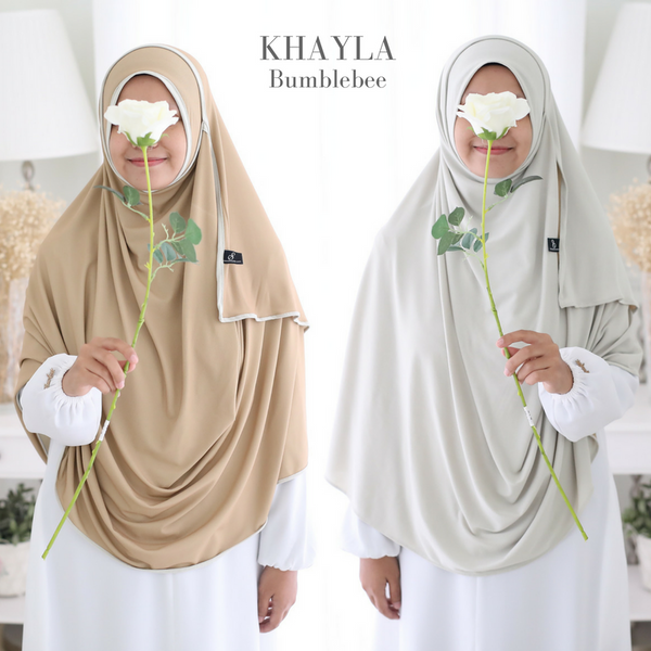 INSTANT SHAWL KHAYLA DWI COLOUR: Bumblebee